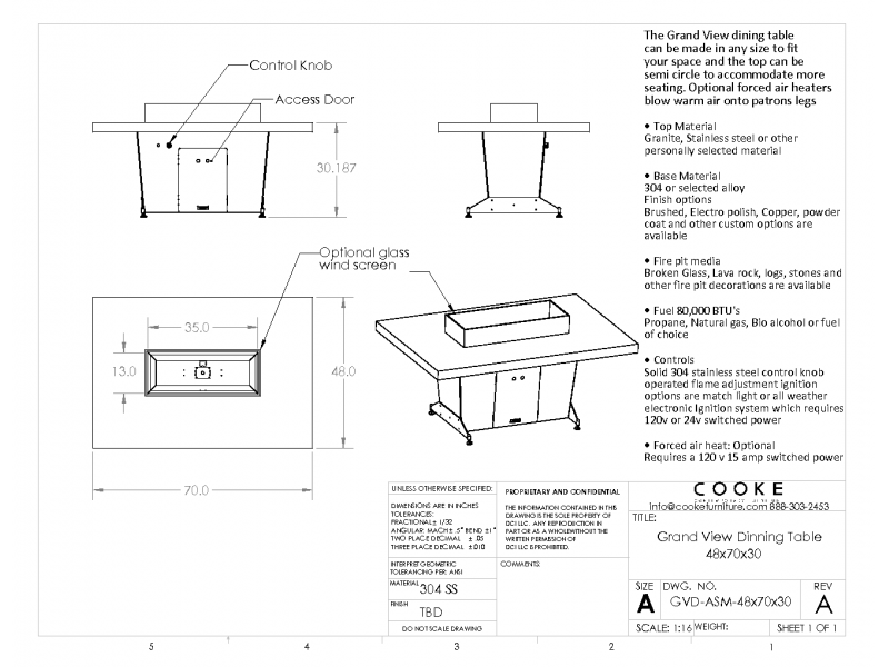 Grand View Specification Sheet 48x70x30