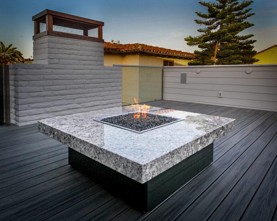 Montecito Fire Pit Table