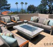 COOKE Montecito 42 x 60 Bianco Romano Granite