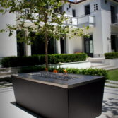 COOKE fire pit tables can be built to any specification or safety standard.