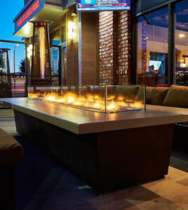 COOKE Newport Custom All-Steel Commercial Fire Pit