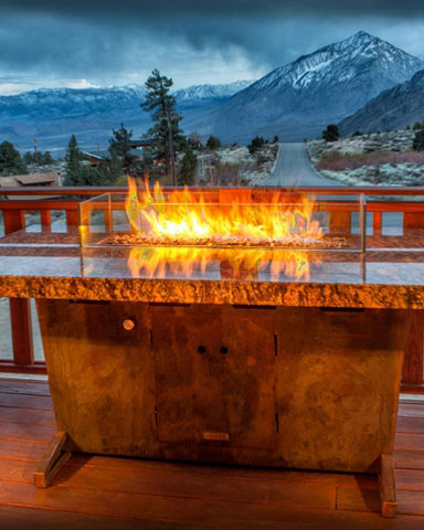 Grand View Fire Table