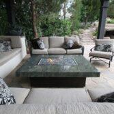 Montecito, Custom Granite Top w/ thick edge.