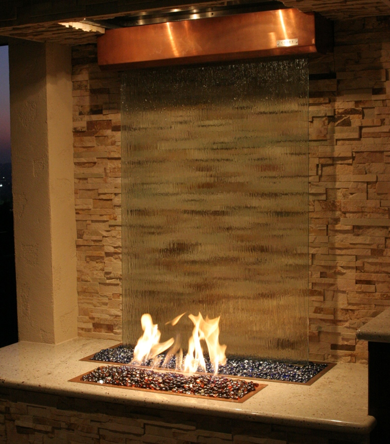 Fire And Water Feature Patio Decor Cooke Furniture