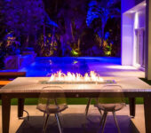 Custom Laguna fire pit Table