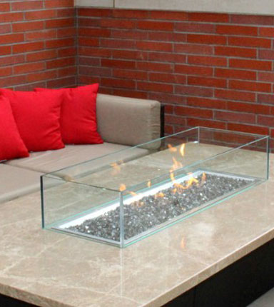 Custom Newport Fire Table