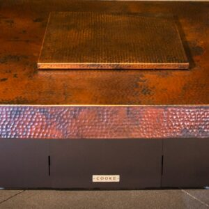 Hammered Copper top