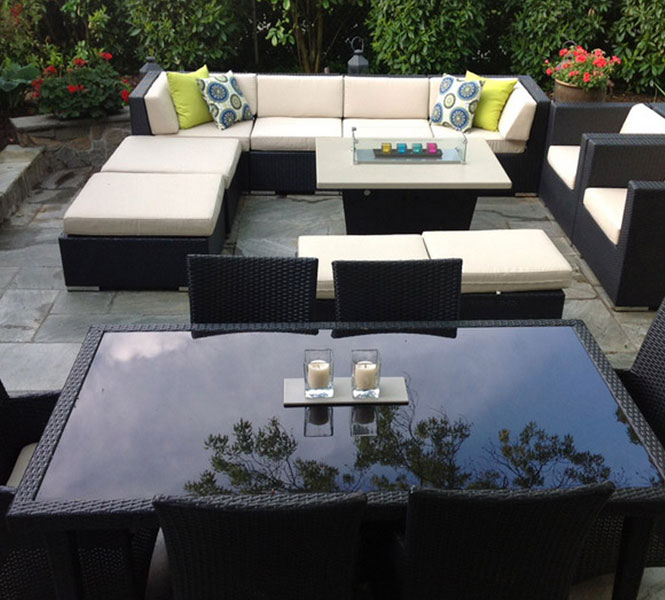 COOKE fire pit tables - built for outdoor living.