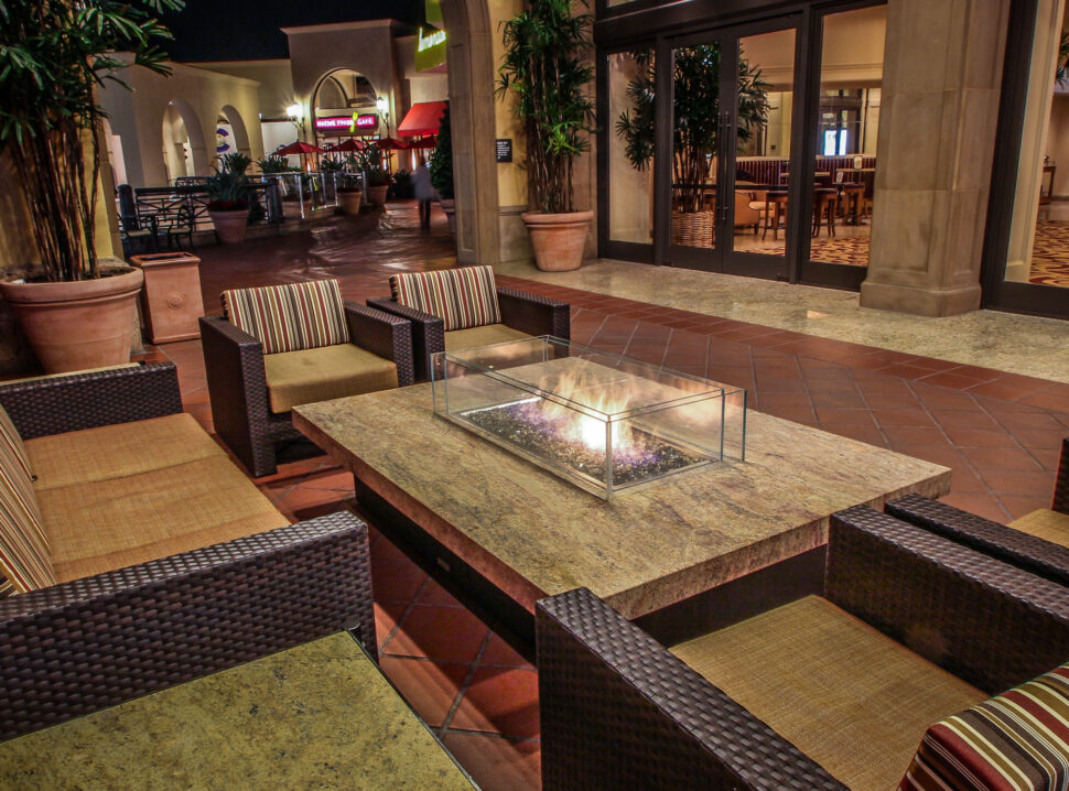 Safety, Automation, Access. COOKE offers premium fire pit tables for any site.