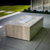 Custom fire pit sizes available.