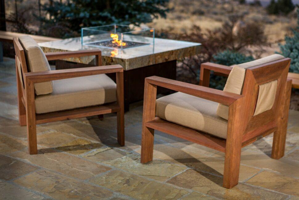 Balboa Lounge Wood Chair