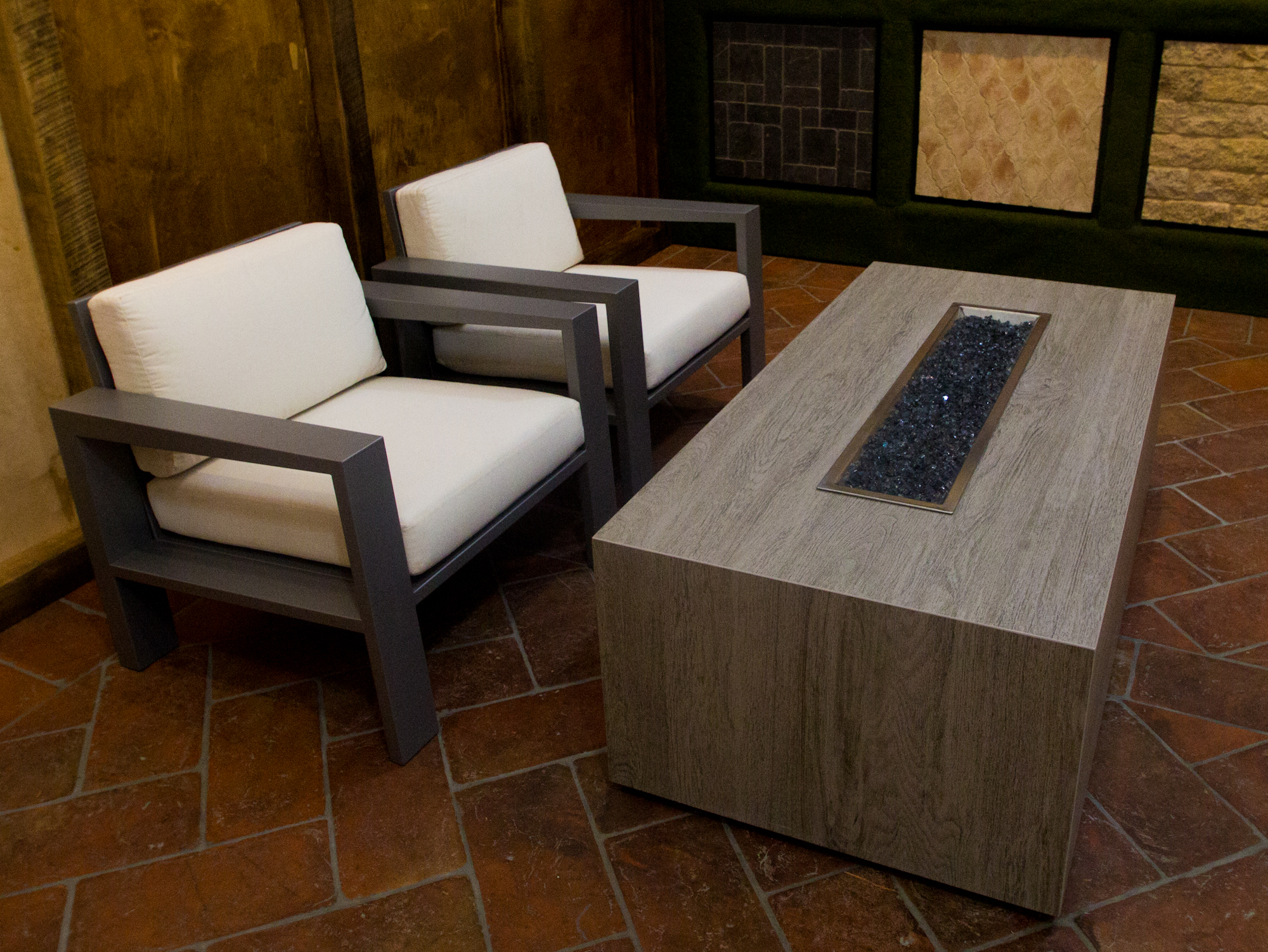 mercial Residential Famosa Fire Pit Table