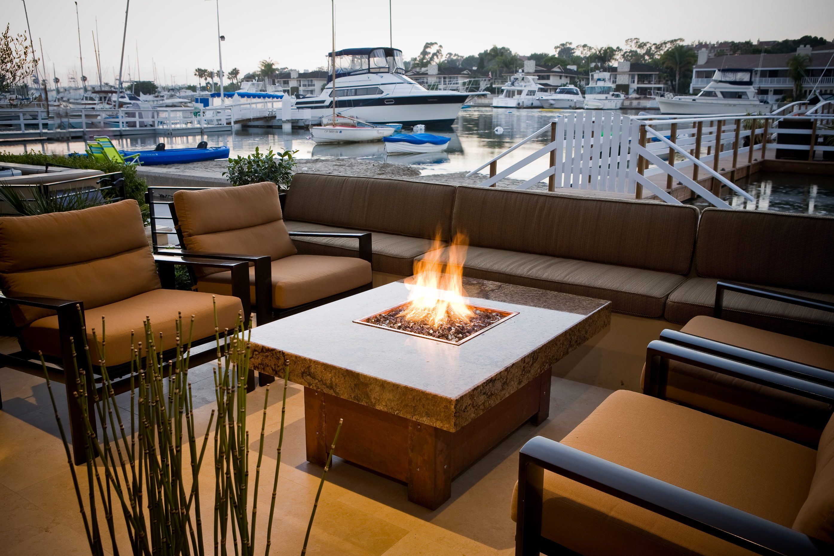 Custom beach firepits