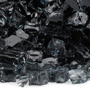 Black 1/2' Fireglass