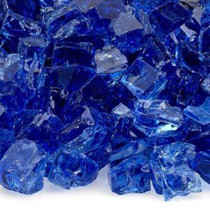 Cobalt Blue 1/2' Fireglass