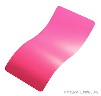 Flat Sassy - A bright pink powder coating color.