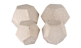 Geometric Stone Set
