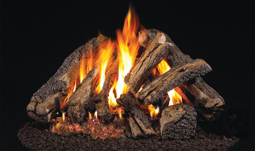 Western Campfire Log Set