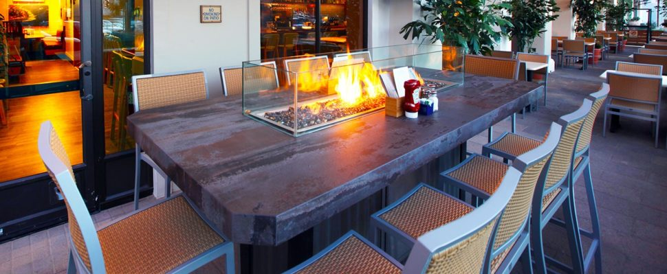 Cooke Santa Monica Fire Pit Table