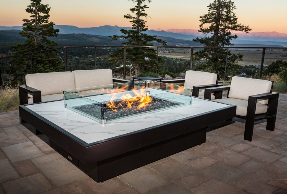 Groovy Custom Outdoor Fire Pit Tables California Cooke Furniture Download Free Architecture Designs Grimeyleaguecom