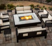 COOKE Outdoor Fire Pit Set