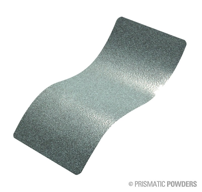 Irondale 98 - a blue/grey charcoal contrast with a smooth and mild texture. This color is a polyurethane leatherette powder coat and has an eggshell finish.