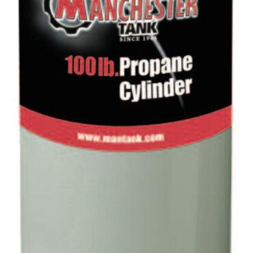 100 lb Manchester Tank - Top appearance depends on valve option chosen