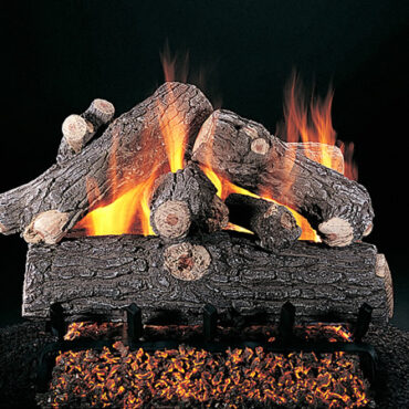 Rasmussen Prestige Oak Vented Gas Log Set