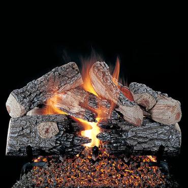 Rasmussen Evening Prestige Vented Gas Log Set