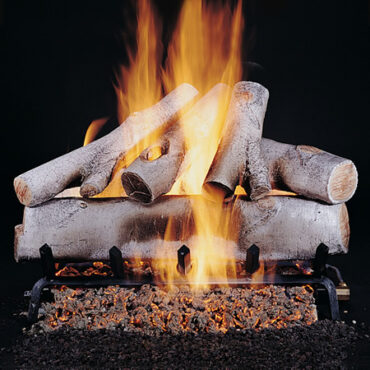 Birch Vented Gas Log Set