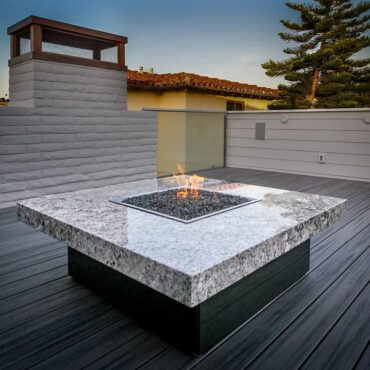 Cooke Montecito Fire Pit Table