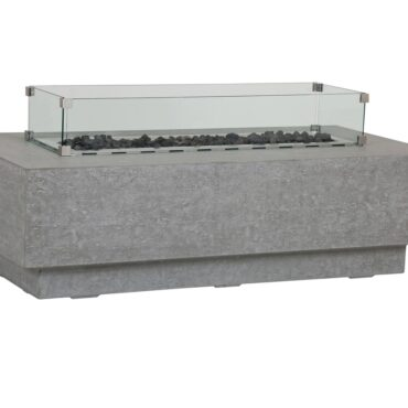 Gravelstone Rectangle Fire Table