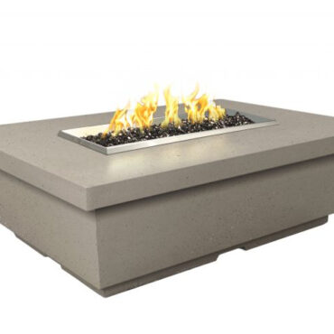 Contempo Rectangular Fire Pit Table