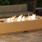 Louvre Long Rectangle Fire PIt Table