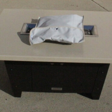 Optional Cloth Table Cover - Folded
