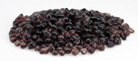 Plum Eco Glass Fire Beads
