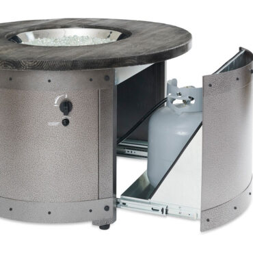 Holds (1) 5 Gallon Propane Cylinder in Base