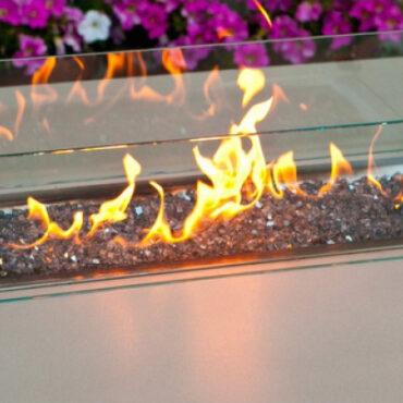 Optional Glass Wind Screen