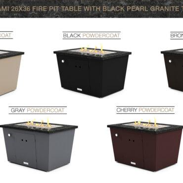 Black Pearl Granite Top Option