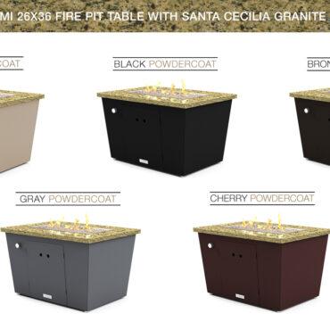 Santa Cecilia Granite Top Option