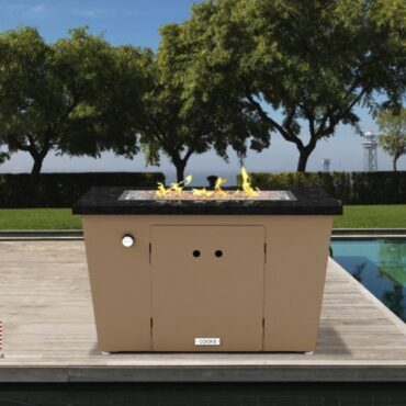 Miami Rectangle Fire Pit Table - 26 x 36