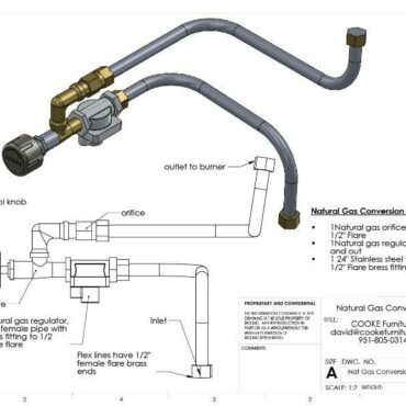 COOKE Nat Gas Conversion Kit