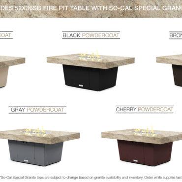 So-Cal Special Granite Top
