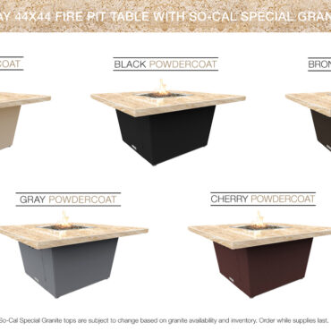 Cafe Creme (SoCal Special) Granite Top Color Configurations