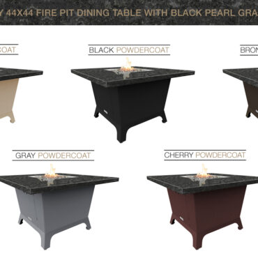 Black Pearl Granite Top & Base Color Configurations
