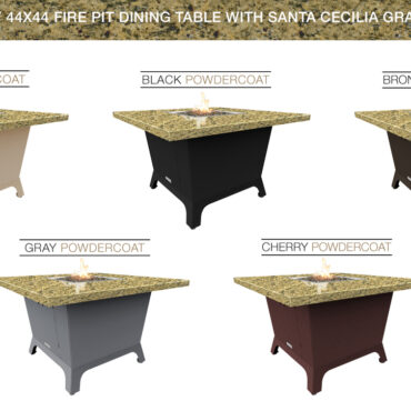 Santa Cecillia Granite Top & Base Color Configurations
