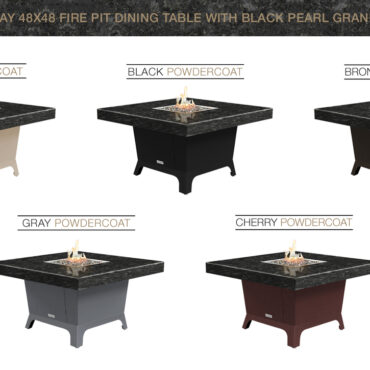 Black Pearl Granite Top Color Configurations