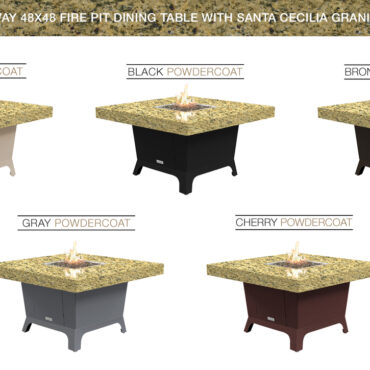 Santa Cecillia Granite Top Color Configurations
