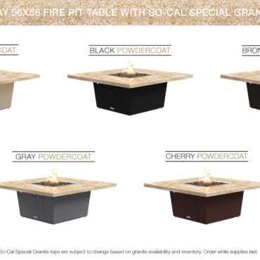 Cafe Creme Granite Top (SoCal Special) - Color Configurations