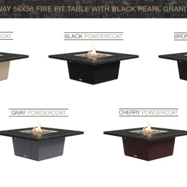 Black Pearl Granite Top - Color Configurations